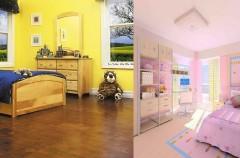 Podłoga do dziecięcego pokoju