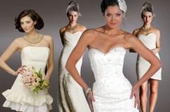 Suknie ślubne 2 w 1