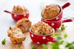 Mięsne muffiny