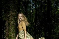 Aleksandra Kuligowska w sesji zdjęciowej Maliny