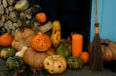 Halloweenowe lampiony - krok po kroku
