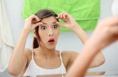 Strach przed zmarszczkami powoduje pryszcze