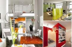 Małe i sprytne mieszkanie