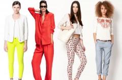 Nowe kolekcje - spodnie na wiosnę i lato 2013