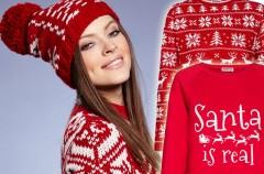 Zimowe stylizacje w świątecznym klimacie