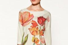Jesienno-zimowa kolekcja t-shirtów i bluzek Zara