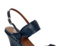 Venezia -  niebieskie i zielone buty na sezon wiosna/lato 2012