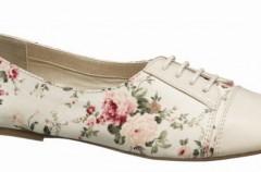 Kwiatowe wzory - kolekcja Deichmann na wiosnę i lato 2012