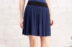 Plisowane spódnice - moda na wiosnę i lato 2012