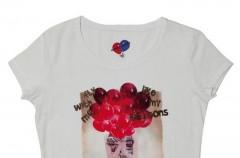 T-shirty z nadrukowanymi postaciami - lato 2012