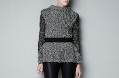 Swetry Zara na jesień i zimę 2012/13