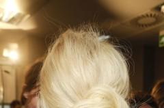 London Fashion Week - fryzury z wybiegu