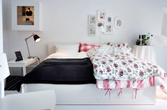 Przytulna sypialnia - IKEA 2013