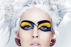 Makijaż bardzo kolorowy