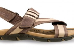 Męskie sandały i klapki Geox
