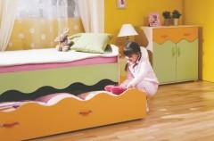 Kolorowe wnętrza dla dzieci od Wajnert