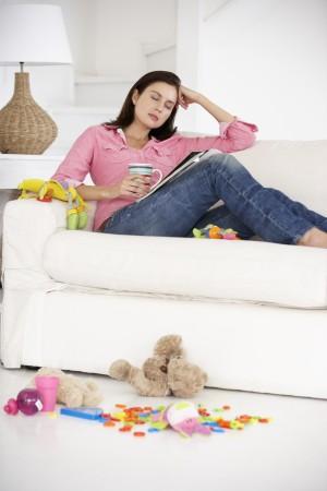 Co robisz, kiedy Twoje dziecko zaśnie?