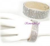Kryształowa biżuteria ślubna