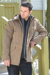 Męskie płaszcze i kurtki Warmii jz 0910 Trendy sezonu