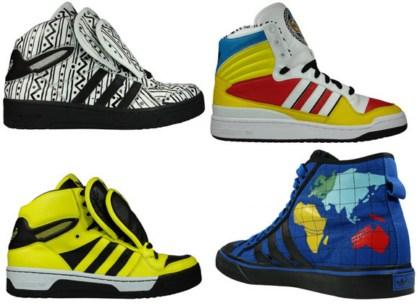 Jeremy Scott dla Adidas- najnowsza kolekcja 2010