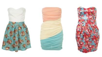 Sukienki wiosna/lato 2010- zakupy z We- Dwoje.pl- korekta :) i dozucic 3 firmy