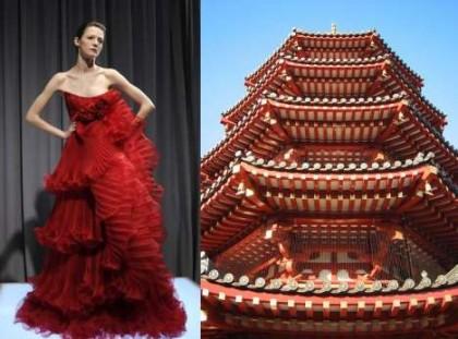 Inspirujący romans architektury i mody