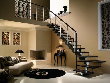 Oświetlone schody