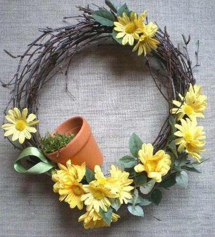 Jak zrobić wiosenną dekorację