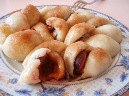 Kuchnia czeska: Owocowe knedliki