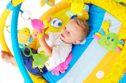 Zabawki dla malucha do 6 miesi�ca?