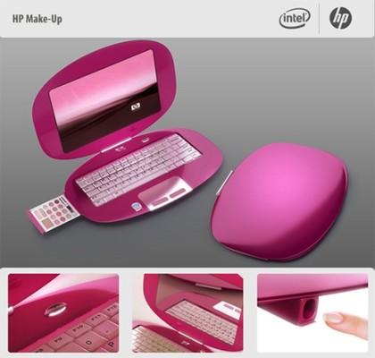 Komputer dla młodej elegantki