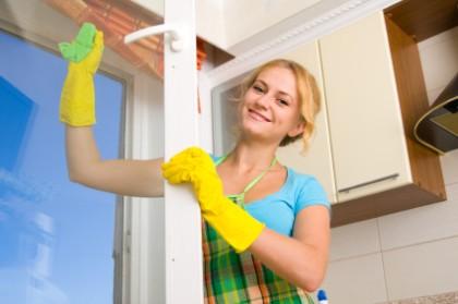 Parę słów o myciu okien