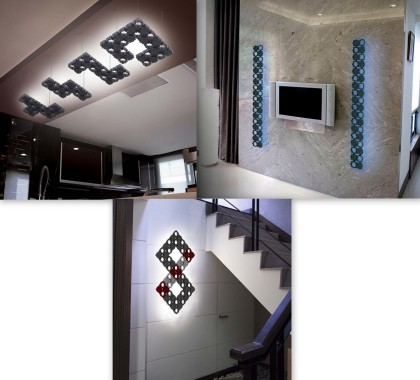 Stylowe światło w domu