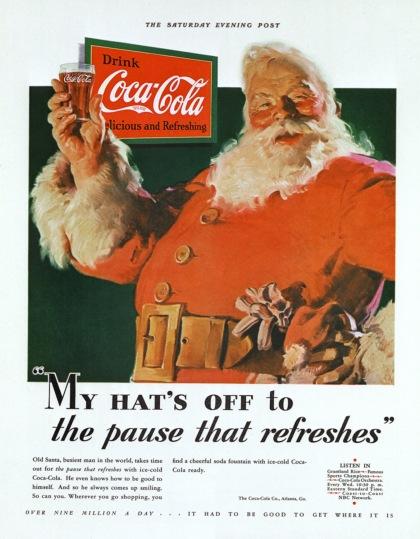 Wsp�czesny wizerunek �wi�tego Miko�aja i Coca-Cola