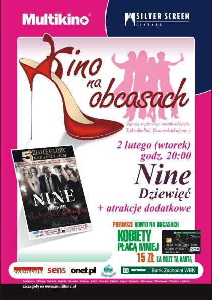 Kino Na Obcasach w Multikinie Złote Tarasy w lutym