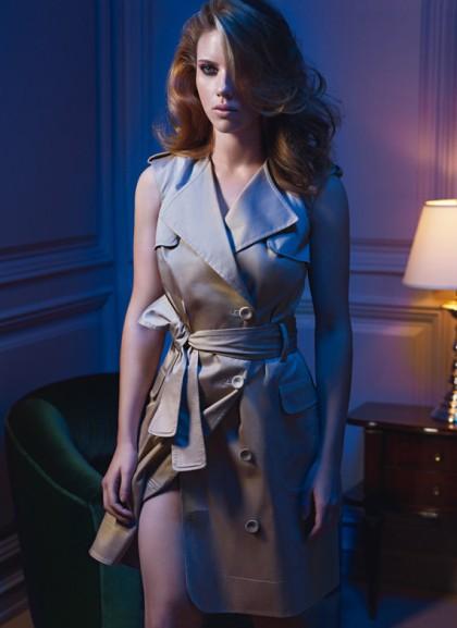 Scarlett Johansson w zmysłowej sesji Mango