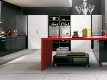 Trzy kolory – lśniąca kuchnia Gio według Cesara