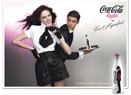 Coca-Cola Light wg. Karla Lagerfelda