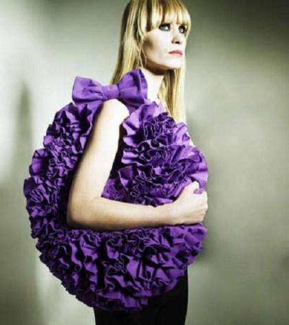 Wariactwa mody- falbany