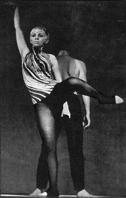 70- latka w You Can Dance