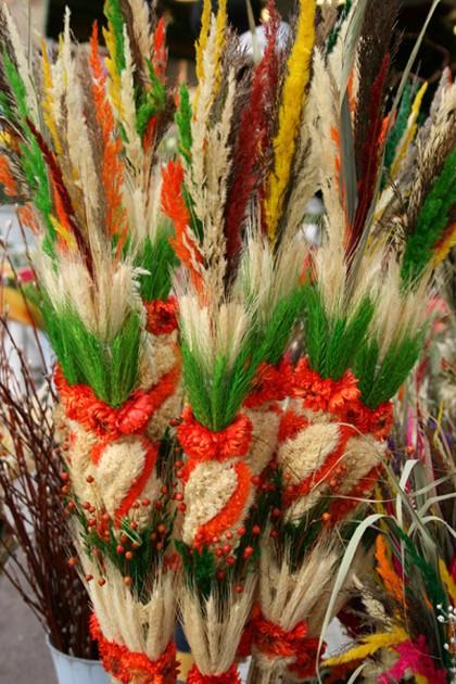 Spo��b na wielkanocn� palm�