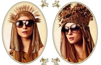 Karen Walker i jej kolekcja okularów-bogowie słońca-korekta