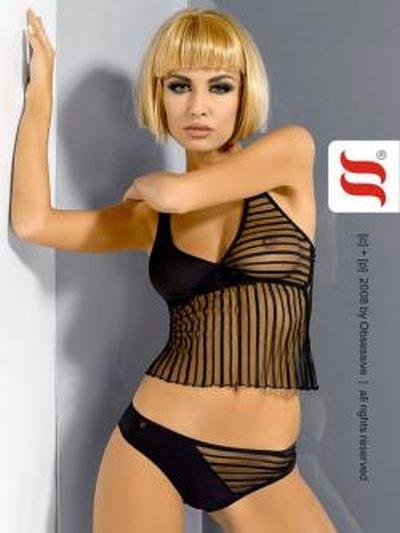 Seksowna z linią Stripedtease 2009 bielizny Obsessive…