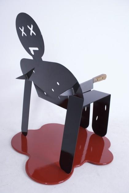 Mordercze krzesło od Gustavo Brencka