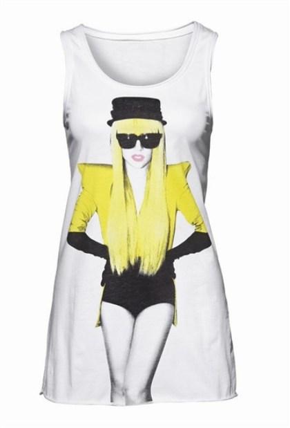 Lady Gaga dla New Yorker koszulki wiosna/lato 2010