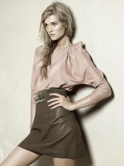 Szorty i skórzane kurtki w nowej kolekcji Zara na wiosnę i