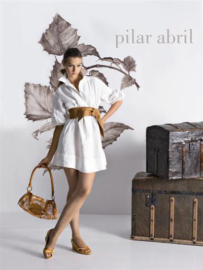 Menbur i Pilar Abril - kolekcja wiosna-lato 2008
