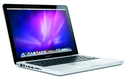 iPod i MacBook pod choinkę