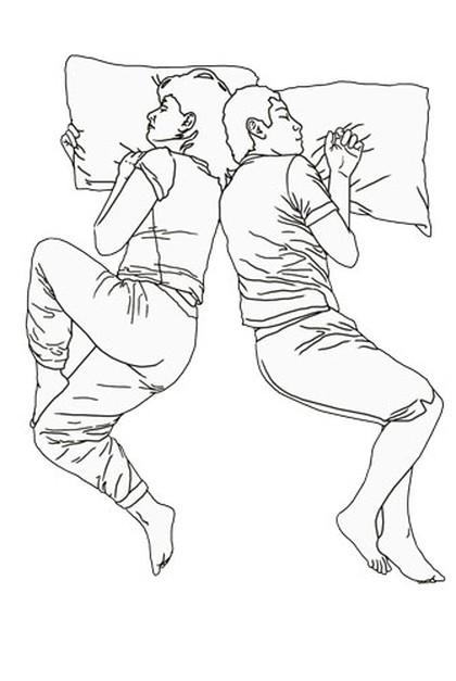 Pozycja, w jakiej śpicie, dużo o was mówi/ LUTY
