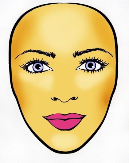 Jaki masz kszta�t twarzy? II